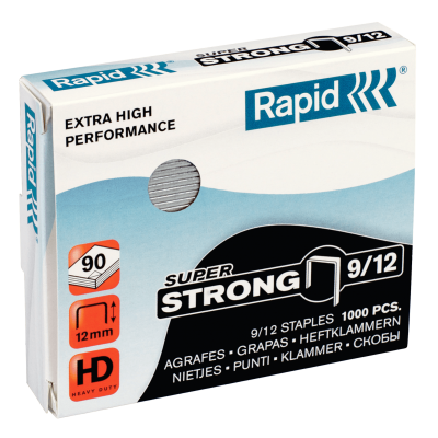 Скобы Rapid SuperStrong 9/12 (1000 скоб)