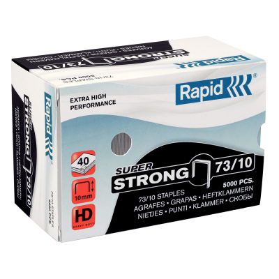 Скобы Rapid SuperStrong 73/10 (5000 скоб)