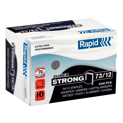 Скобы Rapid SuperStrong 73/12 (5000 скоб)